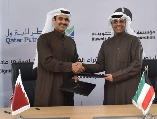 Qatar Petroleum To Supply Kuwait With 3 Million Tons Of LNG Annually For 15 Years