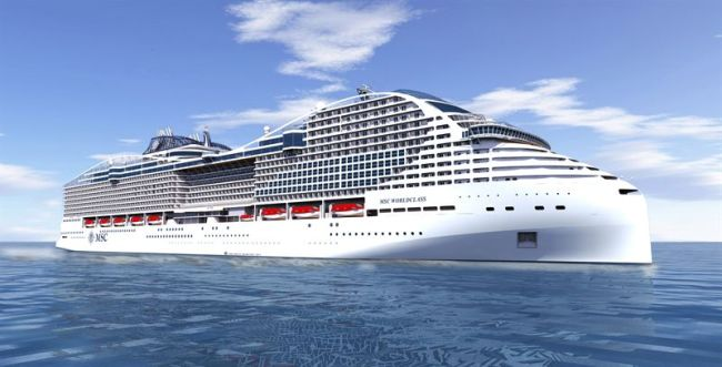 Wärtsilä Solutions Supporting Environmentally Sustainable Performance For Two New Cruise Ships_MSC WorldClass
