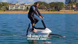 Watch World's First eBike Sailing On Water