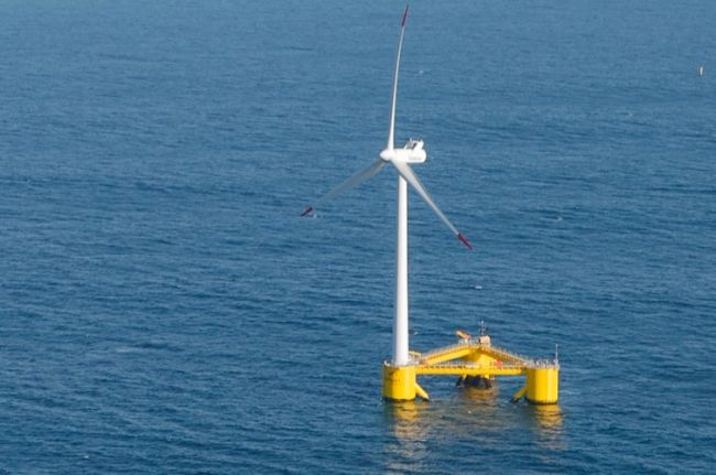 World's Largest Wind Turbine Attached On Floating Platform Supplies 8.4MW