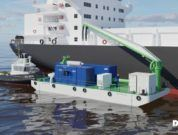 Ballast Water Pre Filtration Barge