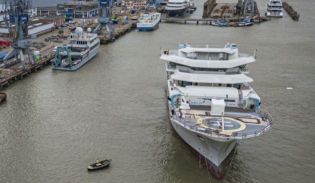 Damen Shiprepair & Conversion Undertaking Oceanxplorer Rebuild