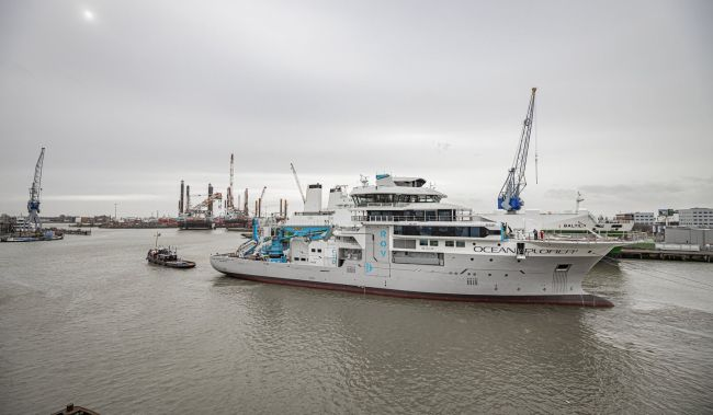 Damen Shiprepair & Conversion Undertaking Oceanxplorer Rebuild_