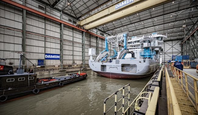 Damen Shiprepair & Conversion Undertaking Oceanxplorer Rebuild