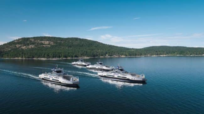 Damen selects Corvus for energy storage systems supplied to BC Ferries for four battery-hybrid Island Class ferries