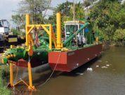 Dredge Yard to deliver a standard cutter dredger ECO 300 to Sri Lanka