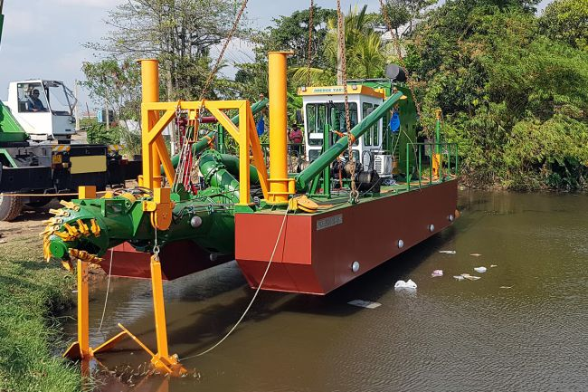 Dredge Yard to deliver a standard cutter dredger ECO 300 to Sri Lanka