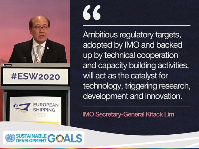 IMO Head Affirms Need For Urgent Action On Emissions