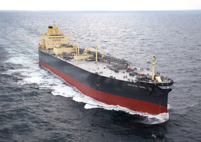 Kawasaki Heavy Industries Delivers LPG Carrier CRYSTAL ANGEL Delivered
