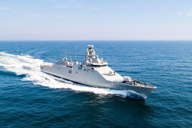 Mexican Navy's POLA-class ARM Reformador _