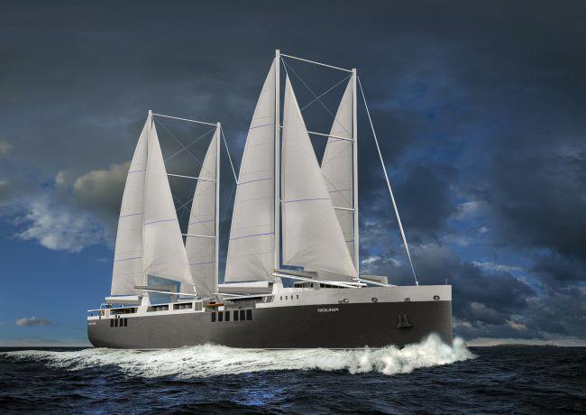NEOLINE_2020_first transatlantic sailing freighter
