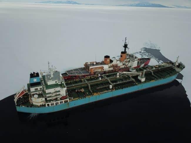 US' Only Heavy Icebreaker Completes Antarctic Treaty Inspections_Sarah Burford