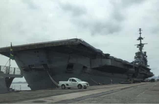asbestos-laden aircraft carrier Clemenceau