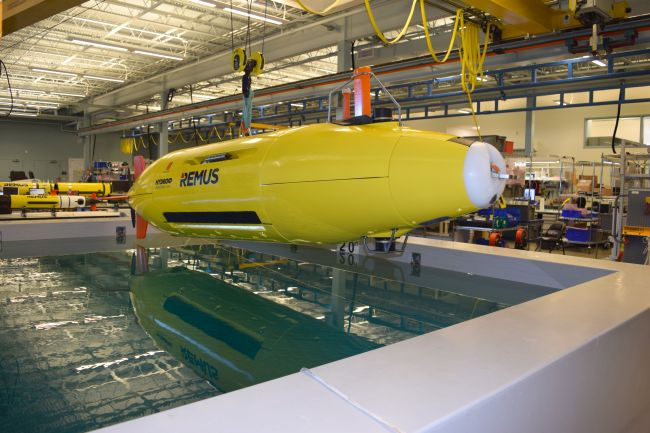 hydroid_tsd_REMUS Autonomous Underwater Vehicle