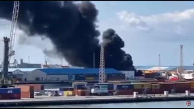tripoli port attacked by libyan army