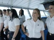 Celebrity Edge Sets Sail With The First All-Female Bridge And Officer Team