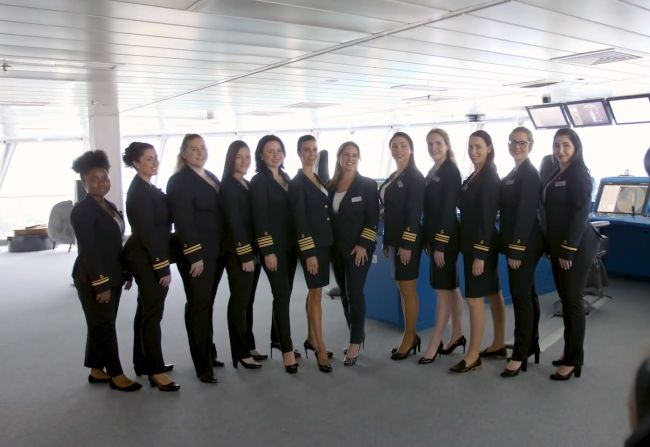 Celebrity Edge Sets Sail With The First All-Female Bridge Team_