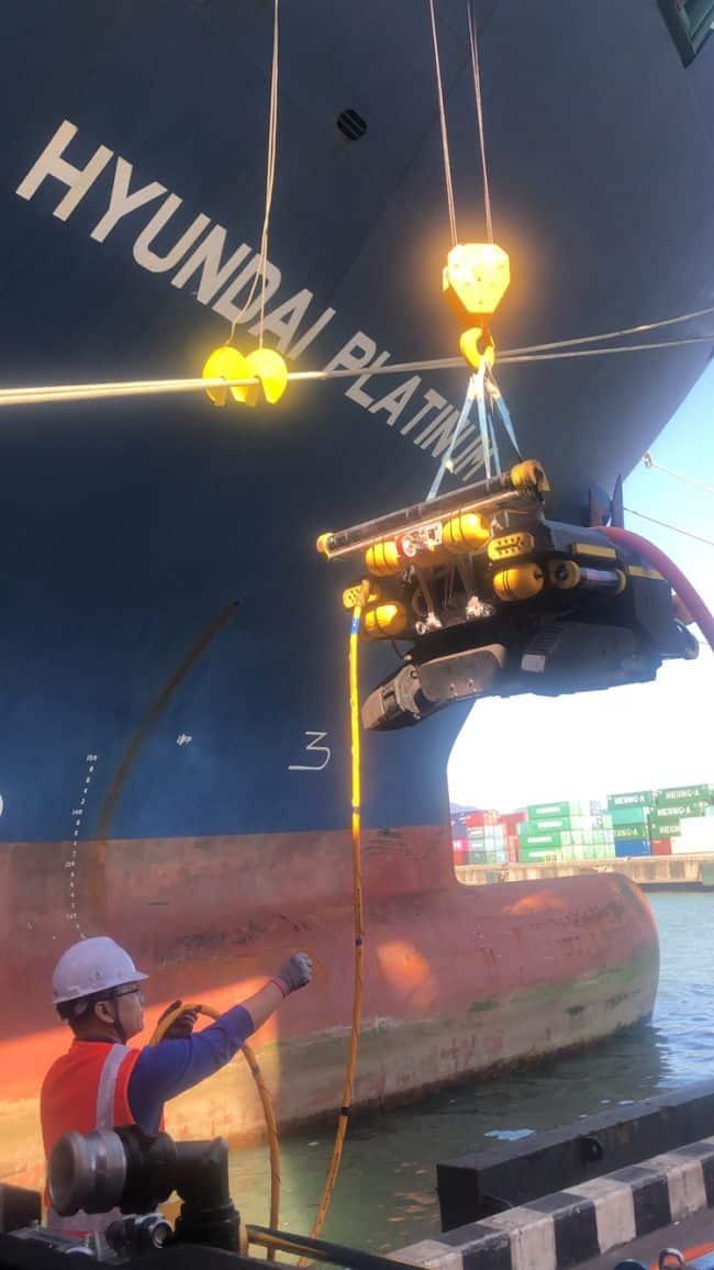 Deploys Underwater Robots for Hull Cleaning_Hyundai Merchant Marine_HMM - Copy