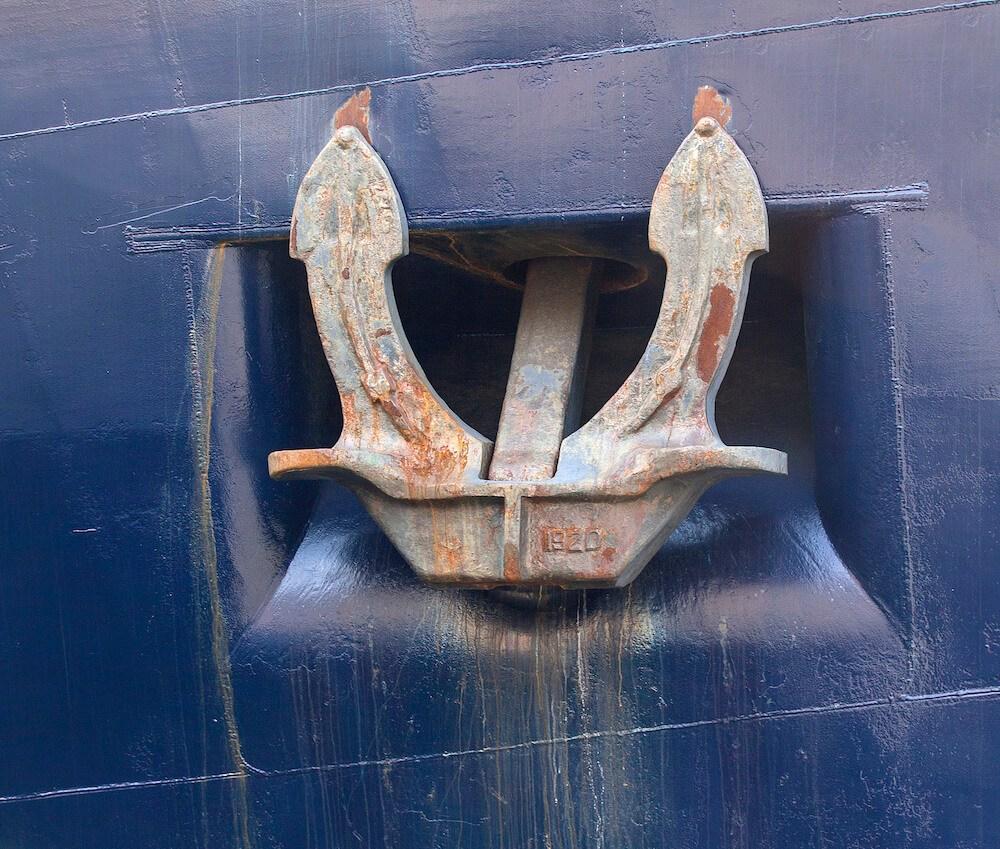 anchor of ship