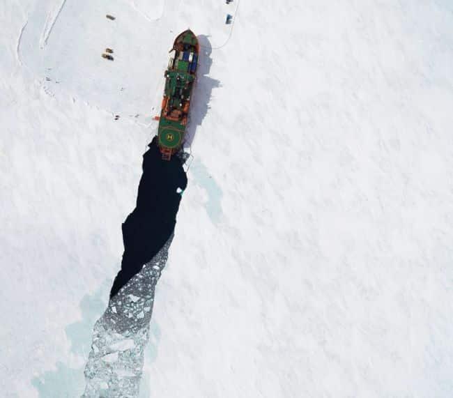 Final Voyage Of Icebreaker Aurora Australis Departs