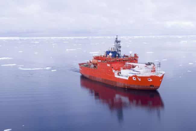 Final Voyage Of Icebreaker Aurora Australis Departs_2