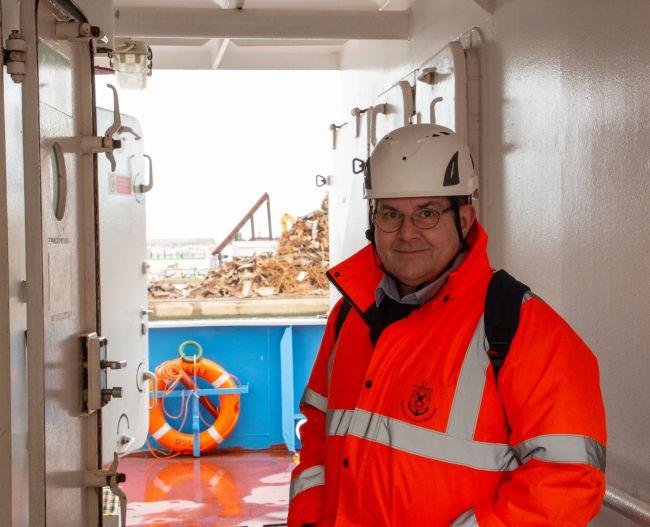 John Fogarty Stella Maris Port Chaplain Medway & Dover_Sophie Stanes