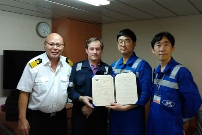 KR Certifies First Vessel - Songa Hawk - As Ship Cyber Security Compliant