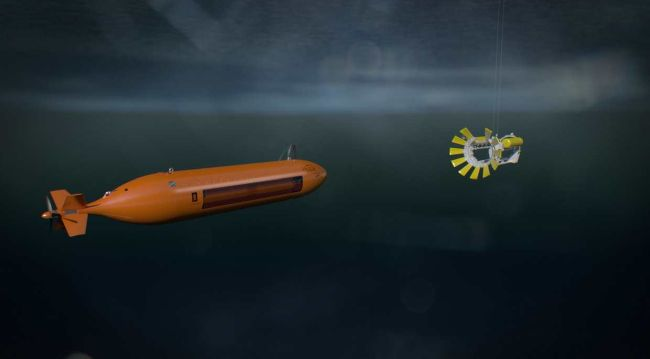 Kongsberg Maritime Develops New LARS Solution For Autonomous Underwater Vehicles