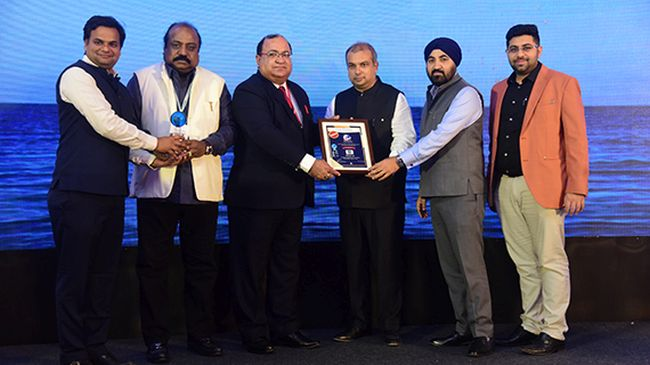 MSC is delighted to receive a major award at the Mega Cargo Show CTL -BHP 2020, held last week at Mumbai, India