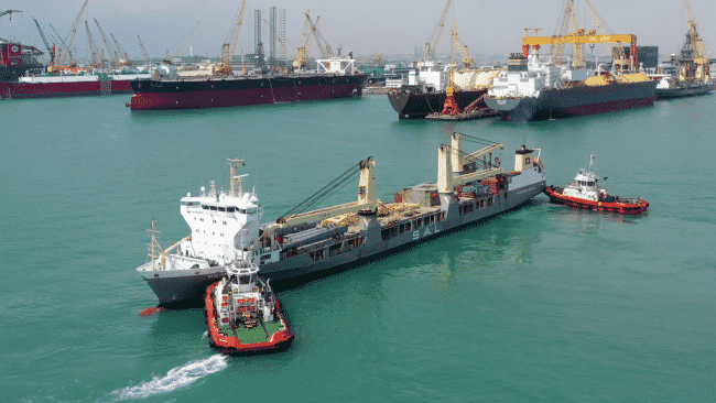 SAL Heavy Lift Showcases Offshore Capabilities With Greater Changhua Test-Pile Project _4