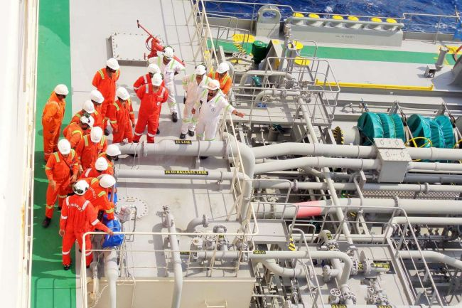 Seafarers are facing mounting pressures as the coronavirus spreads