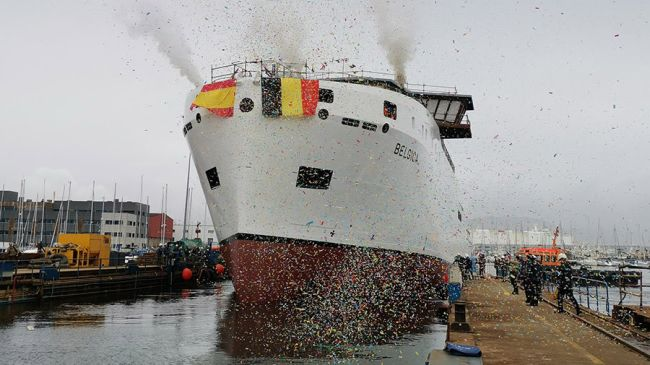 Sperry Marine Delivers VisionMaster FT Bridge For Research Vessel Belgica