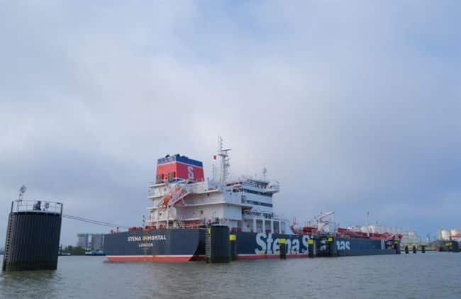 Stena Bulk Performs Test Running An MR Tanker On 100% Biofuel_