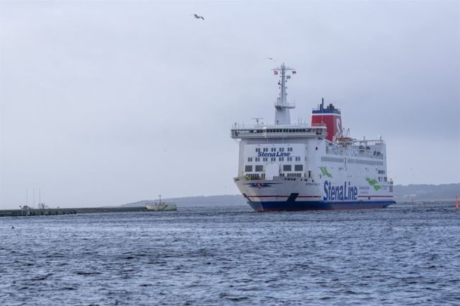 Successful Start For Stena Line's New Ferry Line_