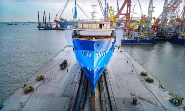 Ulstein Launches Third Sunstone Ships' Infinity_'Ocean Victory'