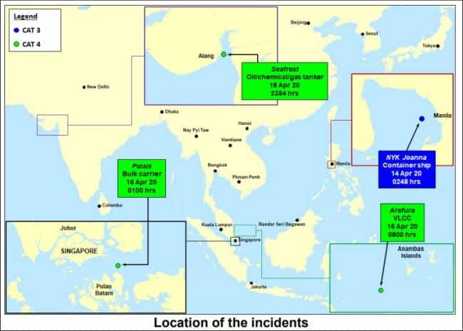 1 Piracy Incident And 3 Incidents Of Armed Robbery Against Ships In Asia In A Week