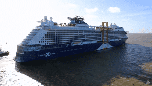 Celebrity Apex Becomes World's First Virtually Delivered Ship