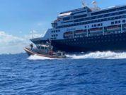 Coast Guard Station Miami Beach escorts cruise ship tender