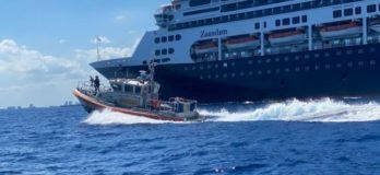 Coast Guard Station Miami Beach escorts cruise ship tender