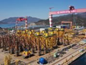 Jan De Nul Nears Completion Of Fabrication Of Foundations For Taiwan's Changhua Offshore Wind Farm