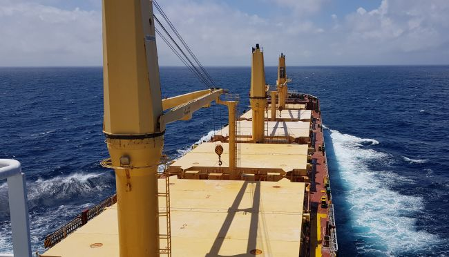 MV Trudy successful in bunkering biofuel