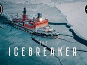 Most Beautiful Video Of The World's Largest Nuclear Icebreaker Ship