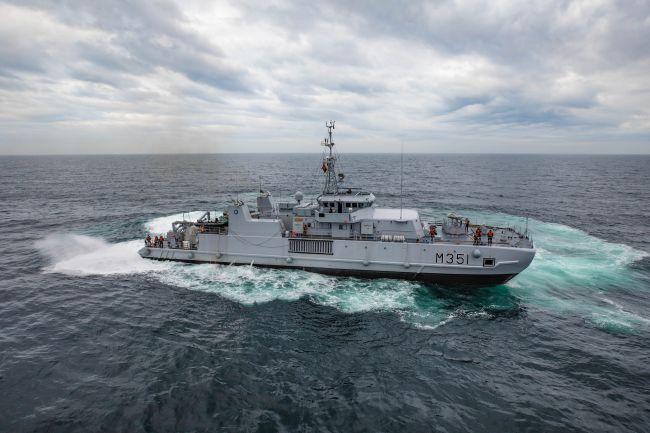 NATO Clears Historic Ordnances Along French Coast
