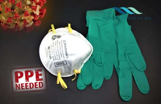 PPE coronavirus covid-19 masks and gloves