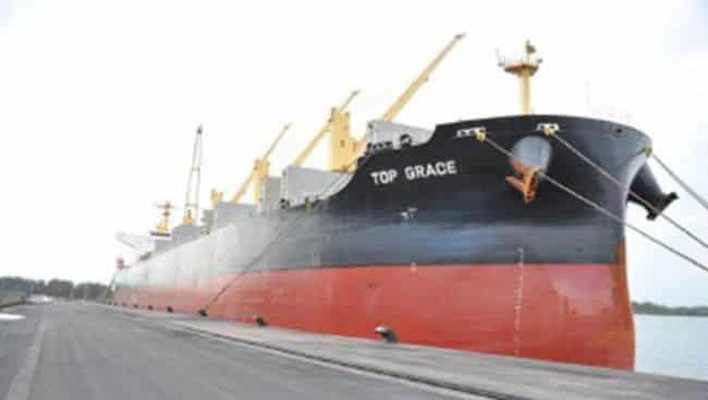 Panama carrier Top Grace
