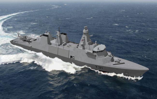Type 31 frigates for UK-Royal Navy
