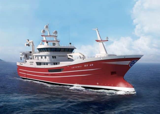Wärtsilä to provide latest engine and power generation technology for new Scottish fishing trawler