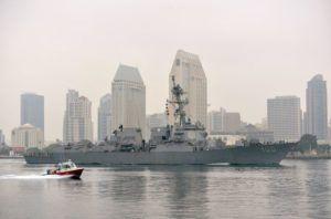 USS Kidd arrives in San Diego