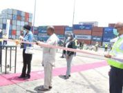 APM Terminals Apapa Commences $80 Million Upgrade With Commissioning Of New Cranes and ribbon cutting
