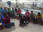 indian fishermen stranded in iran